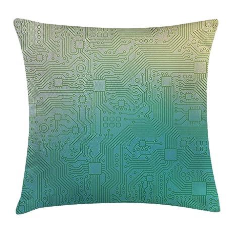 Funda de cojín para almohada de tiro abstracto, patrón de ...