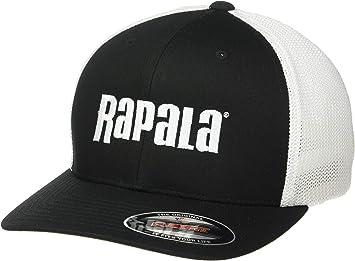 Rapala RFFC203 Gorra de Ajuste Flexible Negro/Blanco Malla ...