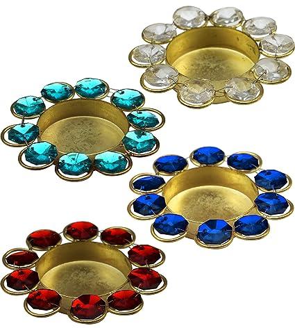 Buy ITOS48 Diwali Diya Lights Candle Holder Home Decoration Items Stunning Home Decorative Item