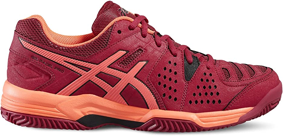 ASICS - Gel Padel Pro 3 SG, Color Rojo, Talla UK-5.5: Amazon.es ...
