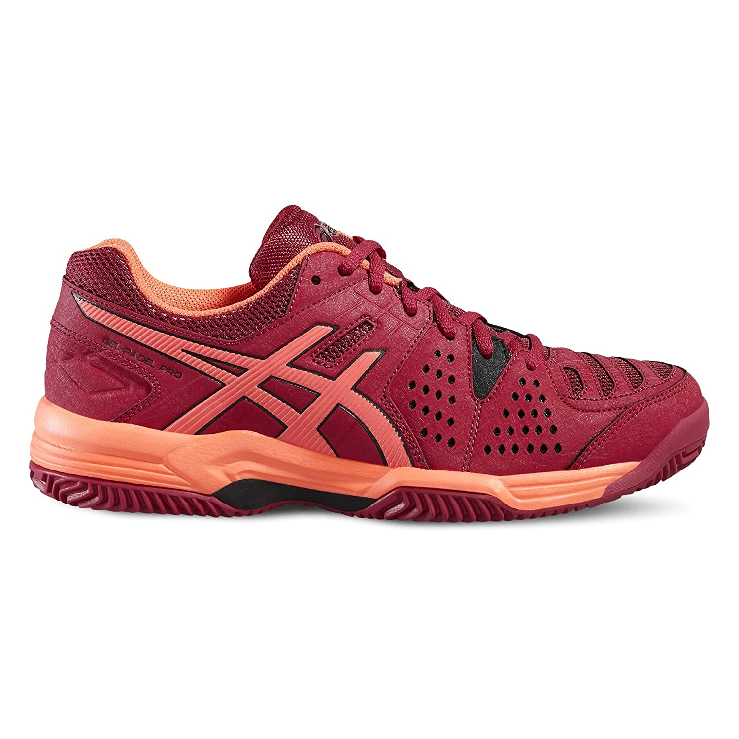ASICS - Gel Padel Pro 3 SG, Color Rojo, Talla UK-3.5: Amazon.es: Deportes y aire libre