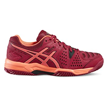 ASICS Gel Padel Pro 3 SG Woman Cereza E561Y 2106: Amazon.es ...