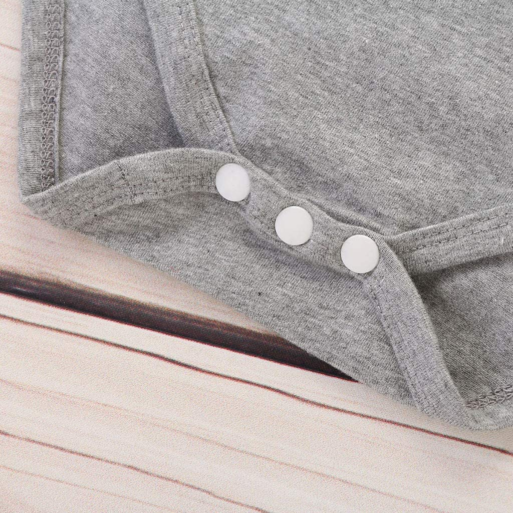 Cwemimifa Baby M/ädchen Neugeborenes Baby M/äDchen Cartoon B/ärentatze Brief Strampler Lange Hose Hut Body Lang/ärmliger Kleidung Outfits