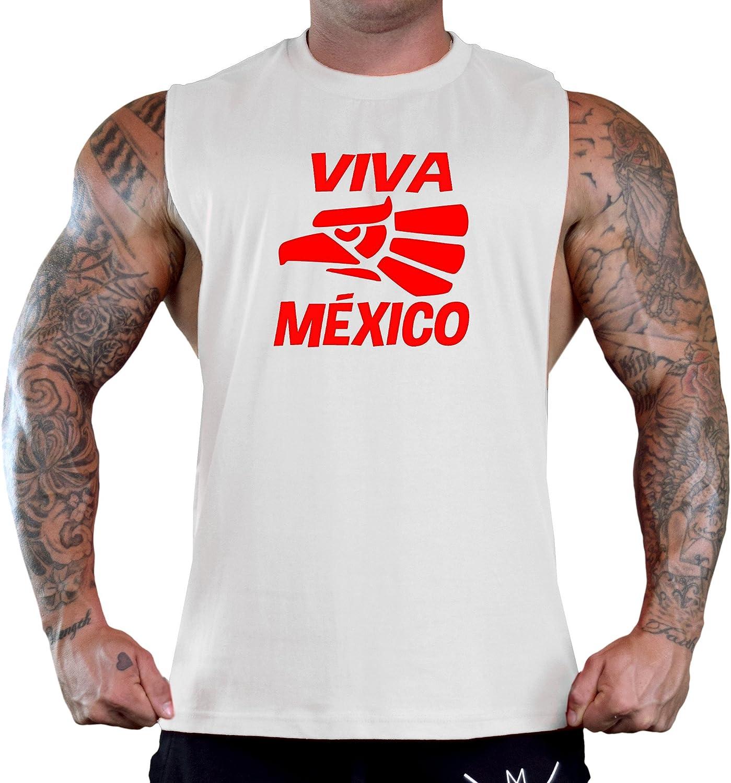 Viva Mexico Eagle Seal Tee V379 Mens Black Fleece Jogger Sweatpant Gym Shorts