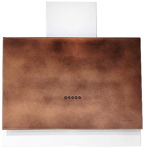Faber - Campana de pared Talika acabado cobre de 80 cm ...