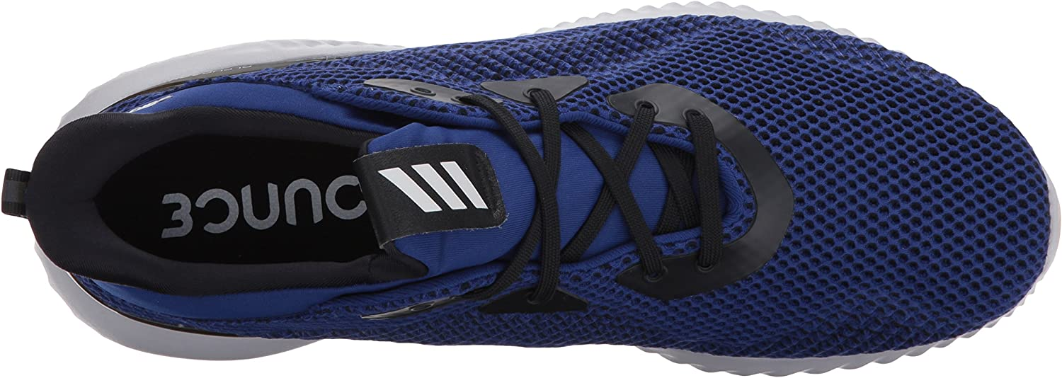 adidas Performance Men's Alphabounce M Running Shoe Mystery Ink/Black/Tactile Yellow
