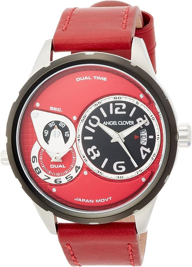 [エンジェルクローバー] 腕時計 Duel レッド文字盤 DU47BRE-RE メンズ レッド