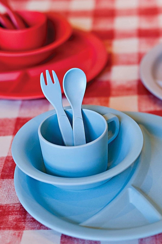 Red Rover 20024 Childrens Dinner Set 5-Piece Blue