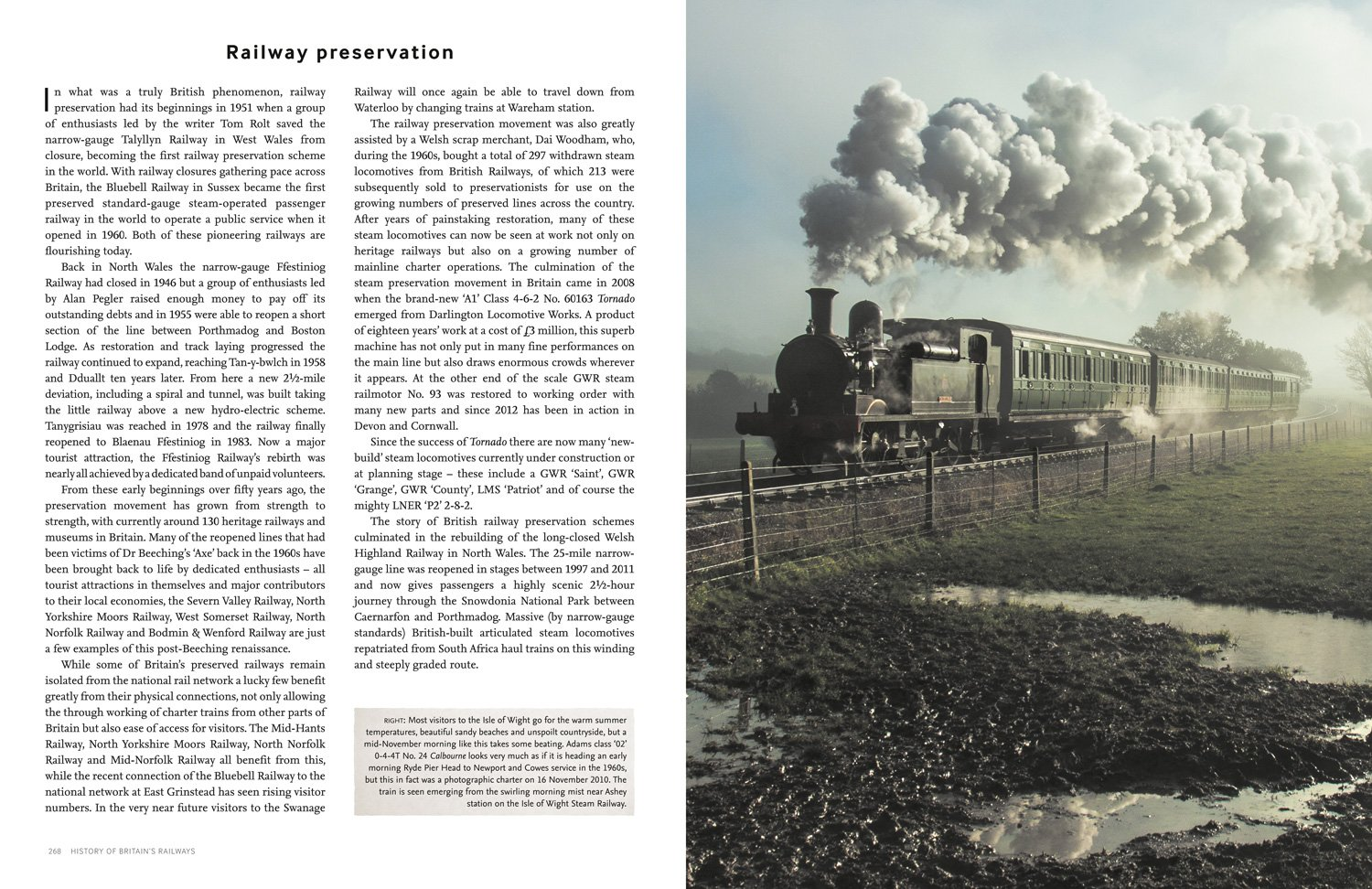 The Times History of Britain's Railways: From 1603 to the Present Day by HarperCollins UK