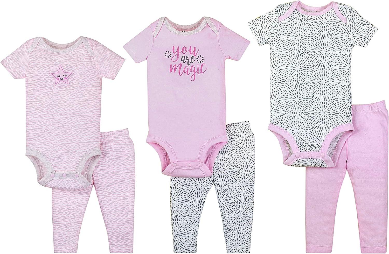 Lamaze Organic Baby Organic Baby/Toddler Girl, Boy, Unisex Gift Sets, Pink, 0-9M