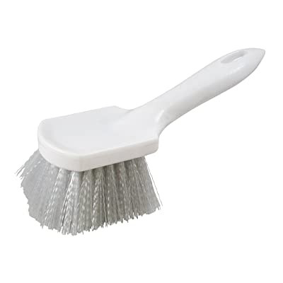 "Carrand 93049 9"" H.D. Nylon Scrub Brush with Plastic Block: Automotive"