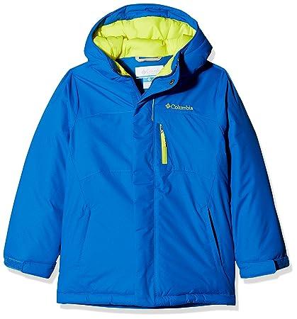 Columbia Chaqueta de esquí para niño, Alpine Free Fall, Azul (Super Blue,