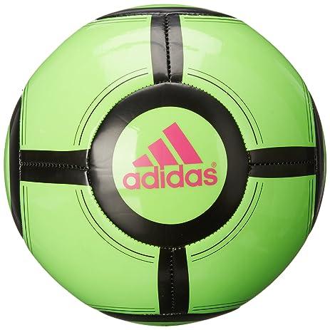 adidas Performance Ace Glider II Soccer Ball, Solar Green/Black/Shock Pink,