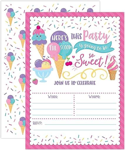 Amazon.com: Invitaciones para fiestas de cumpleaños de ...