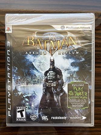 Batman: Arkham Asylum: Ps3: Amazon.es: Videojuegos