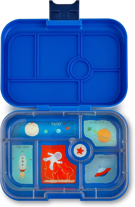 Yumbox (Neptune azul) a prueba de fugas Bento caja de almuerzo contenedor para niños: Amazon.es: Hogar