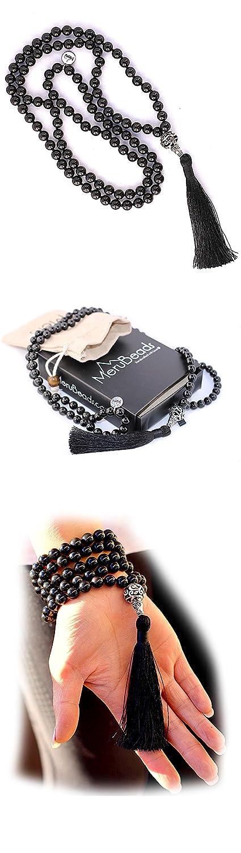 Japa Mala Buddhist Prayer Beads Buddha Necklace Tassel Necklace Mala Necklace Premium Mala Beads Necklace 108 Mala Beads Meditation
