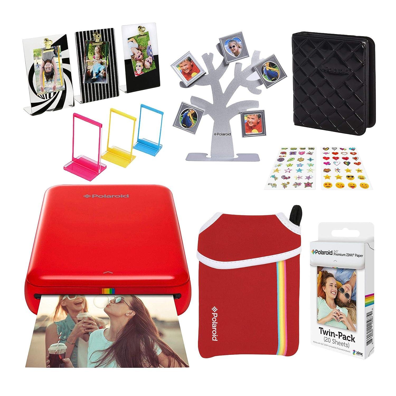 Polaroid Zip Impresora de Fotos Inalámbrica (Rojo) Último ...