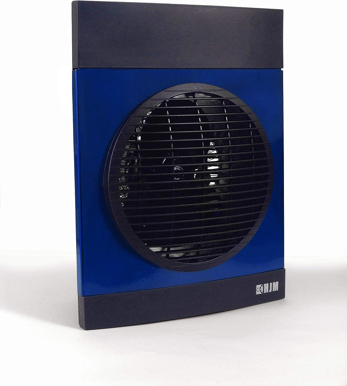 HJM 639 TERMOVENTILADOR VERTICAL, 2000 W, Acero, azul: Amazon.es ...
