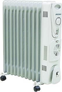 MPM MUG-14 Radiador De Aceite Portátil con Turbo-Fan Y Termostato, 2700
