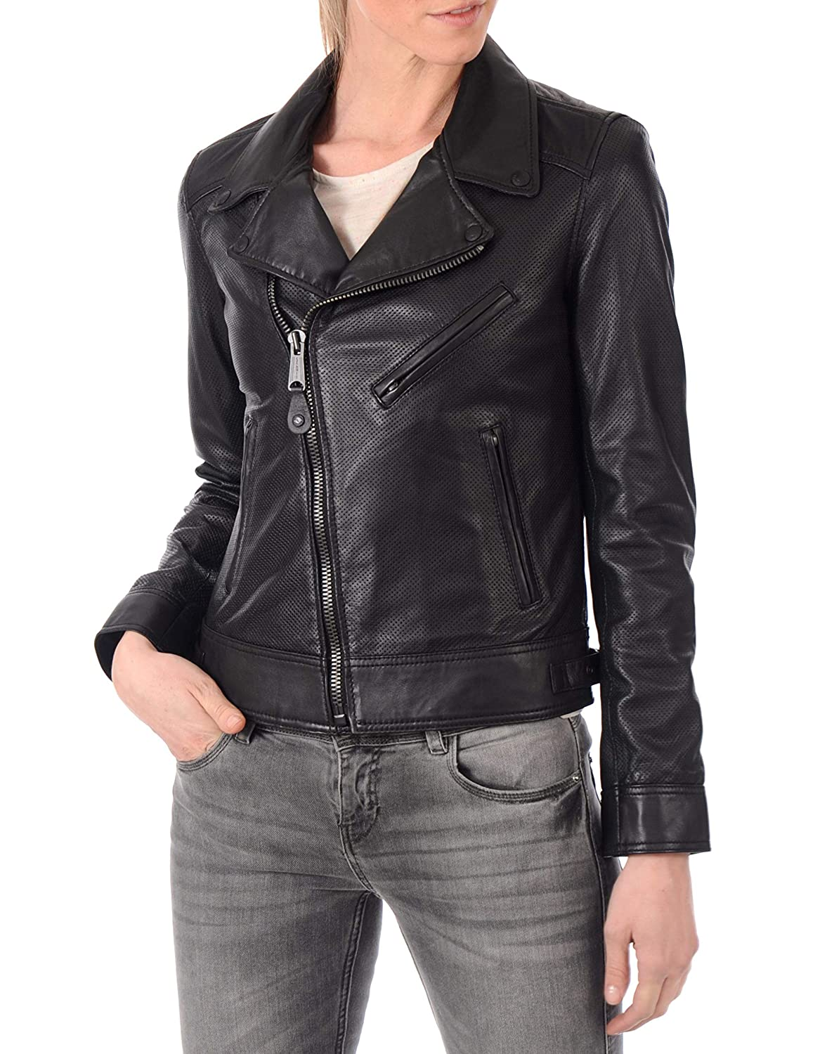 Black13fc DOLLY LAMB 100% Leather Jacket for Women  Slim Fit & Quilted  Moto, Bomber, Biker Winter Casual Wear