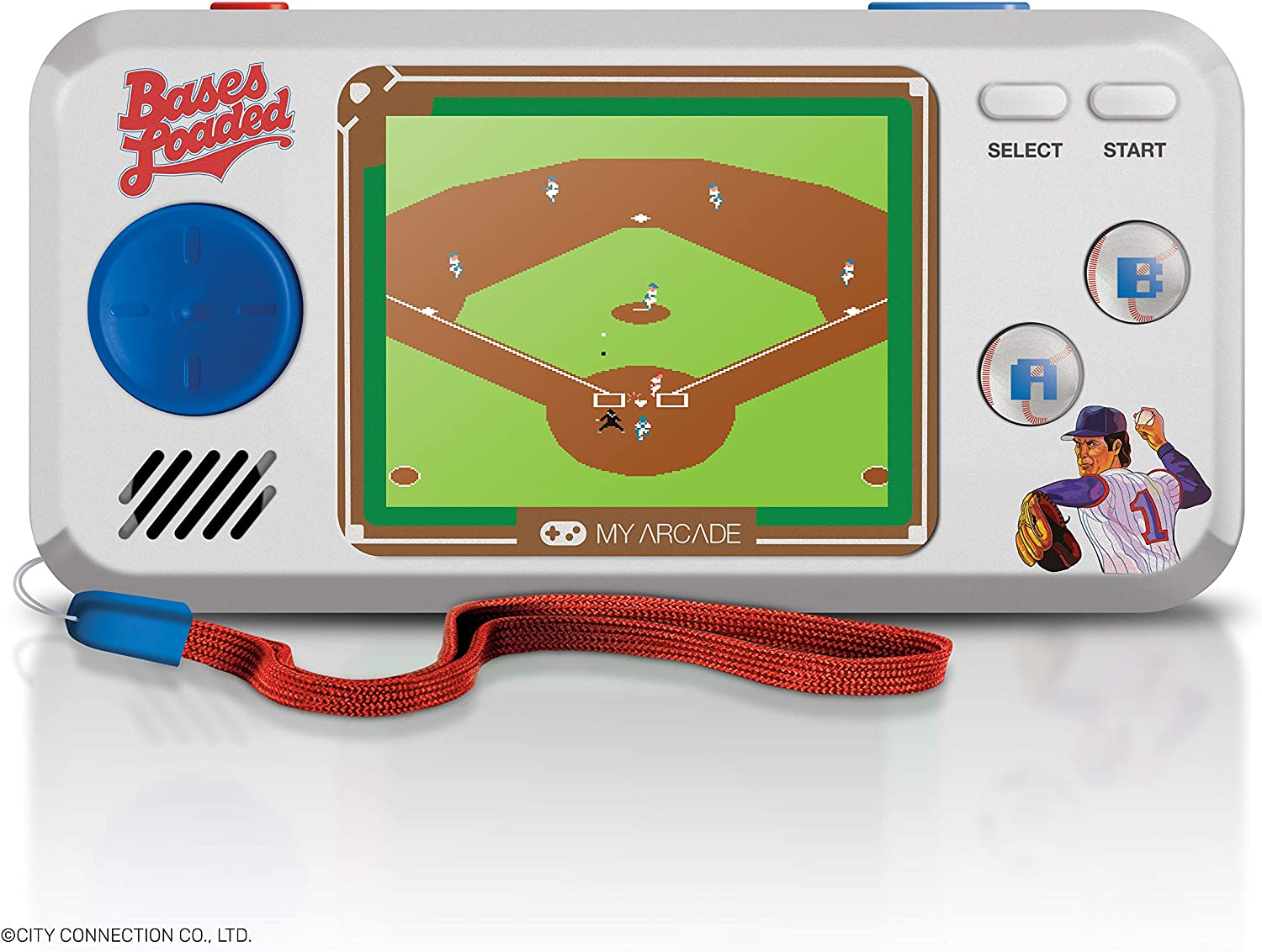 Collectible Handheld Game Console with 7 Games My Arcade All-Star Stadium Pocket Player