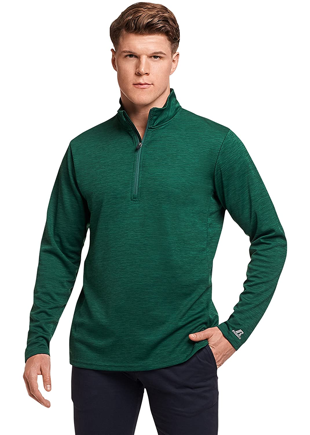 Russell Athletic Men's Lightweight Performance 1/4 Zip QZ7EAM0