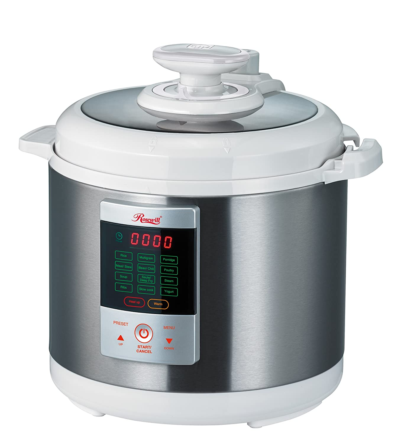 electric pressure cooker rosewill 7 in 1 electric multi functional programmable 31524