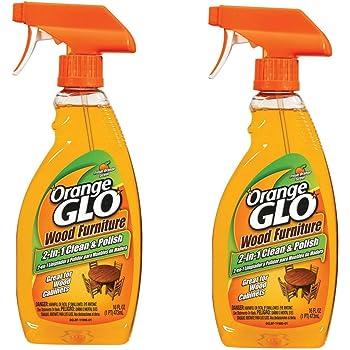 Amazon Com Orange Glo 2 In 1 Clean Amp Polish Wood