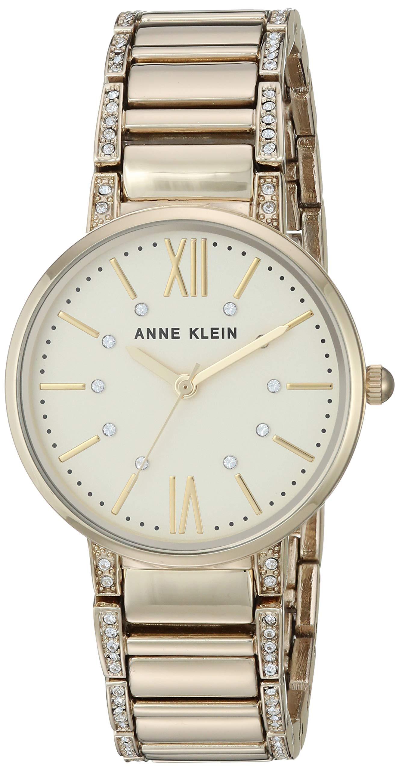 Anne Klein Dress Watch (Model: AK/3200CHGB) by Anne Klein