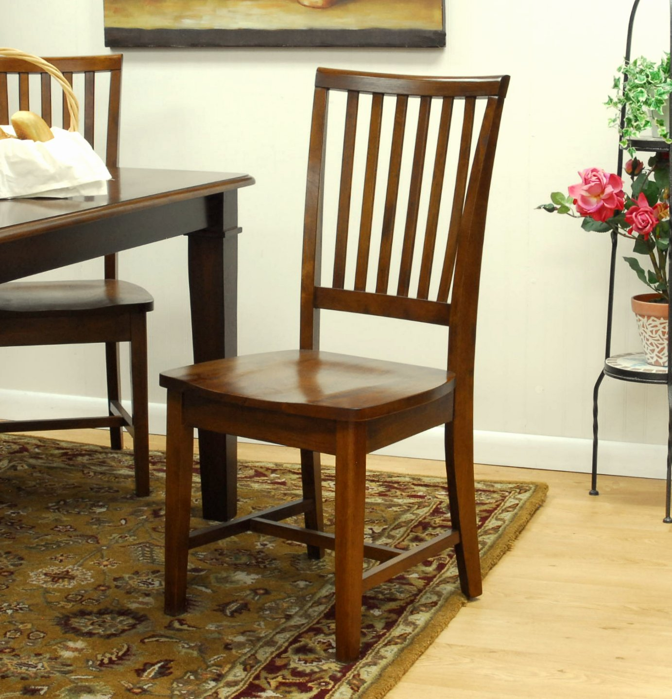 Amazon Carolina Classic Hudson Dining Chair Chestnut Chairs