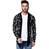 DENIMHOLIC Men's Fullsleeve Cotton Cardigan Shrug