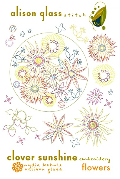 Amazon Flowers By Alison Glass Stitch Clover Sunshine