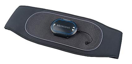 Medisana AM 880 - Cinturón Abdominal, Dispositivo de Estimulación con 6 Programas de Entrenamiento y