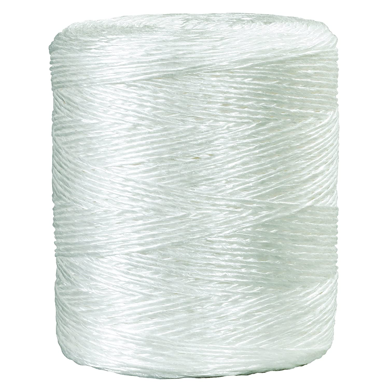 Ship Now Supply SNTWT265 Polypropylene Tying Twine White 2650/' Box Partners 2-Ply 490 lb 2650