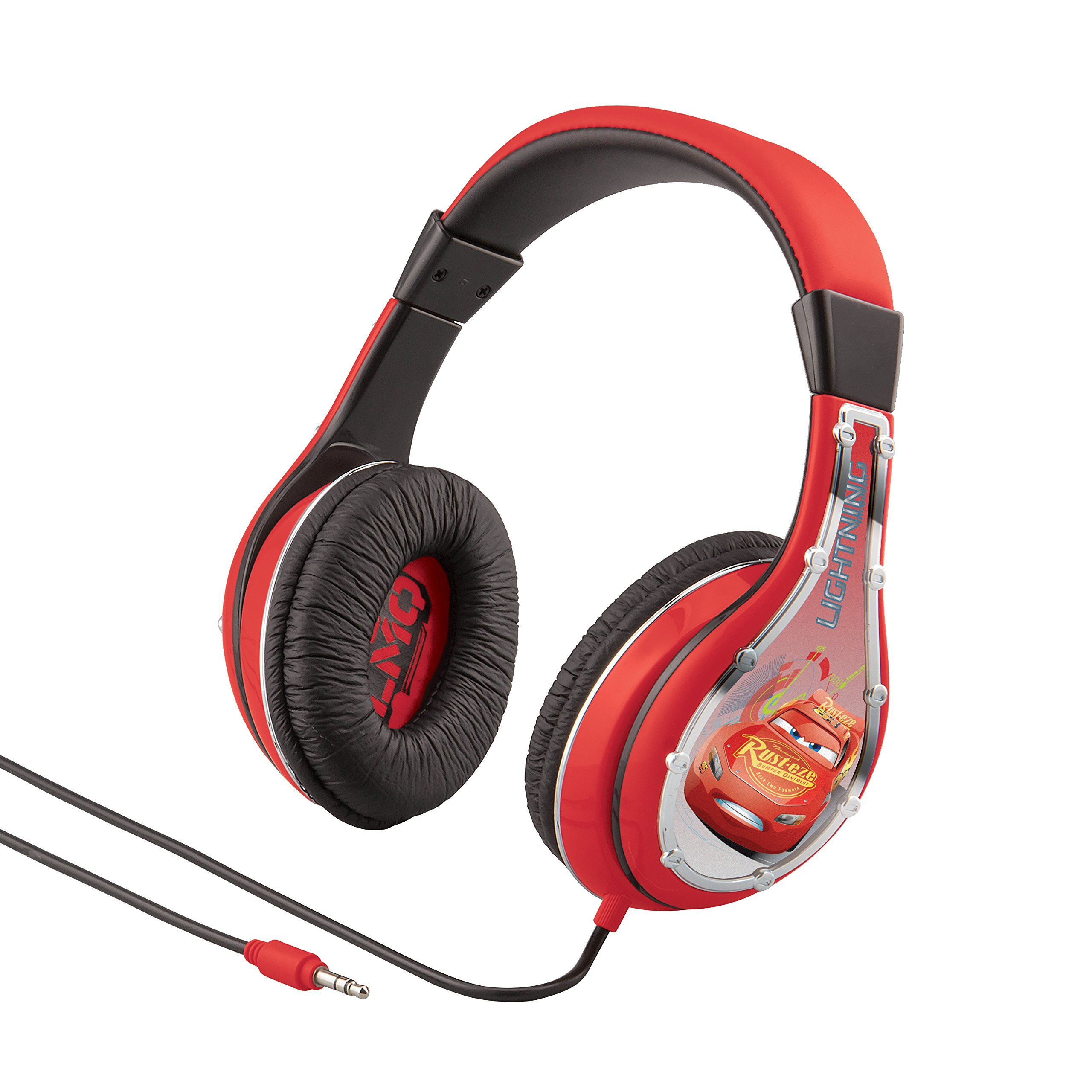 Cars Headphones for Kids with Built in Volume Limiting Feature for Kid Friendly Safe Listening