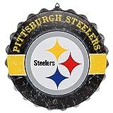 FOCO Pittsburgh Steelers NFL Metal Distressed