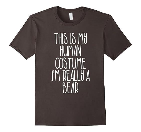 Mens Cute Simple Bear Halloween Costume Shirt for Girls Boys Men 2XL Asphalt  sc 1 st  Amazon.com & Amazon.com: Cute Simple Bear Halloween Costume Shirt for Girls Boys ...
