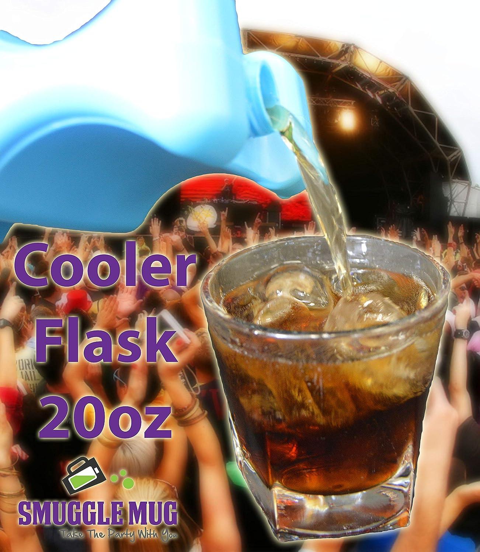 クーラーフラスコ、アイスパックフラスコSmuggleマグ 20 oz ブルー cooler2pak