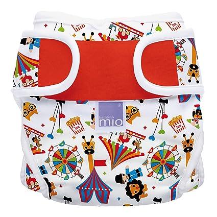 Bambino Mio, miosoft cobertor de pañal, circo, talla 1 (<9 kg