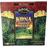 Hawaiian Gold Kona Coffee 18ct. Kcup 2.0 net wt 7.02 oz