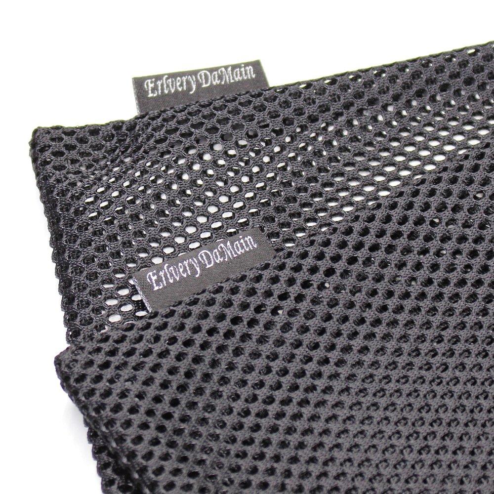 Erlvery DaMain 2pcs Mesh Equipment Bag Drawstring Storage Ditty Bags Stuff Sack for Travel & Outdoor Activity by Erlvery DaMain (Image #4)