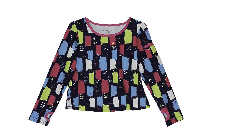 Good Lad 7//16 Multicolor Activewear Top