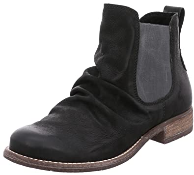 newest 134da a6e98 Josef Seibel Damenschuhe 99659 Sienna 59 Damen Leder Chelsea Boot,  Stiefelette, Micro Fleece, Seitlicher Gummizug, Einlegesohle