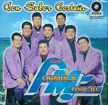 Super Formula Musical - Super Formula Musical (Con Sabor Costeno Cdo-554) - Amazon.com Music