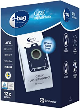 5 sacs s bag classic aspirateur ELECTROLUX CLASSIC SILENCE