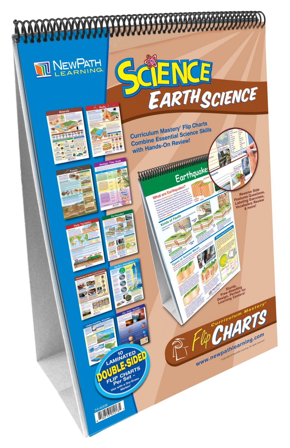 Newpath Learning Curriculum Mastery Earth Science Flip Charts by New Path
