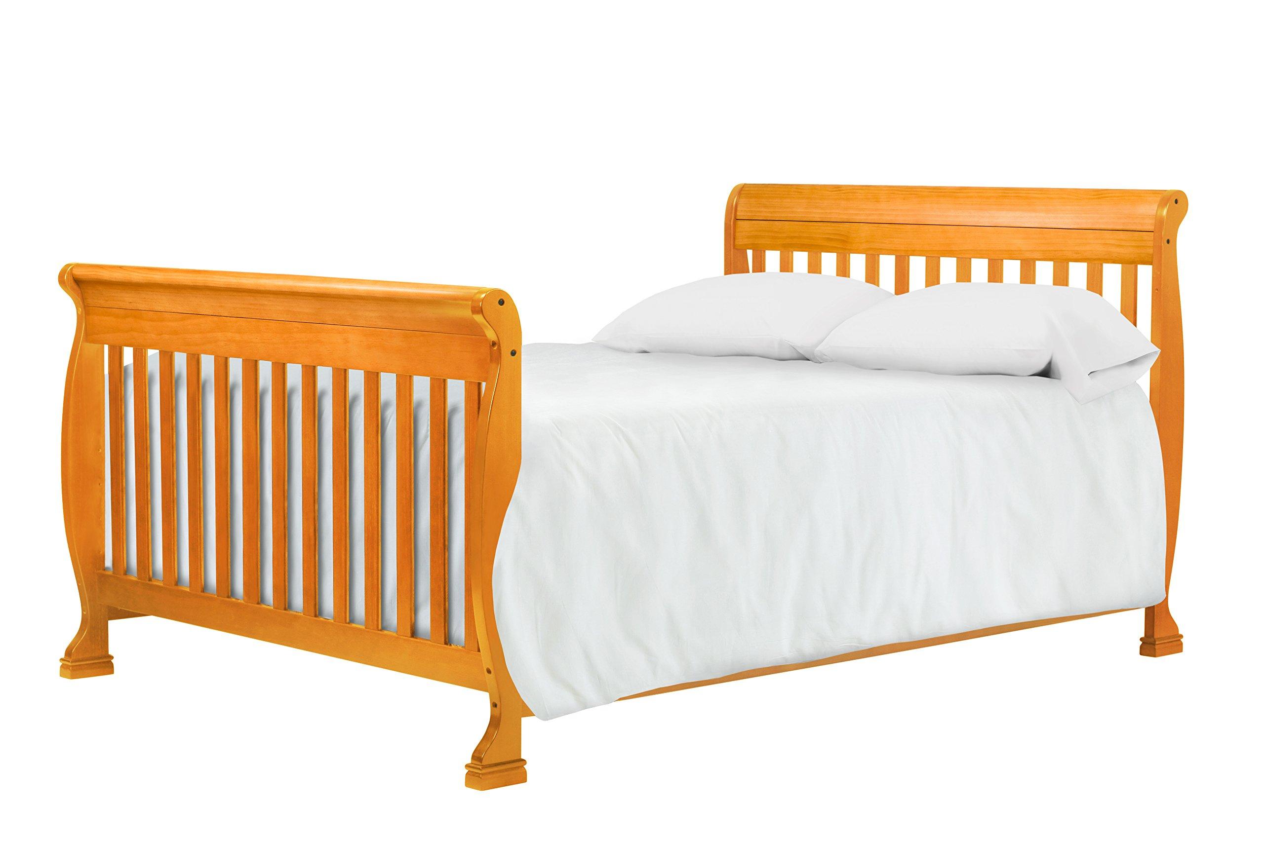DaVinci Kalani 4-In-1 Convertible Crib, Honey Oak by DaVinci (Image #10)