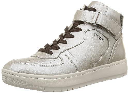 Geoxd NIMAT D - Zapatillas Mujer, Color Blanco, Talla 37
