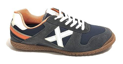 Scuro Blu Unisex Scarpe Amazon Goal E it Tessutocamoscio Us19mu04 Borse Munich Sneaker xXqIxU
